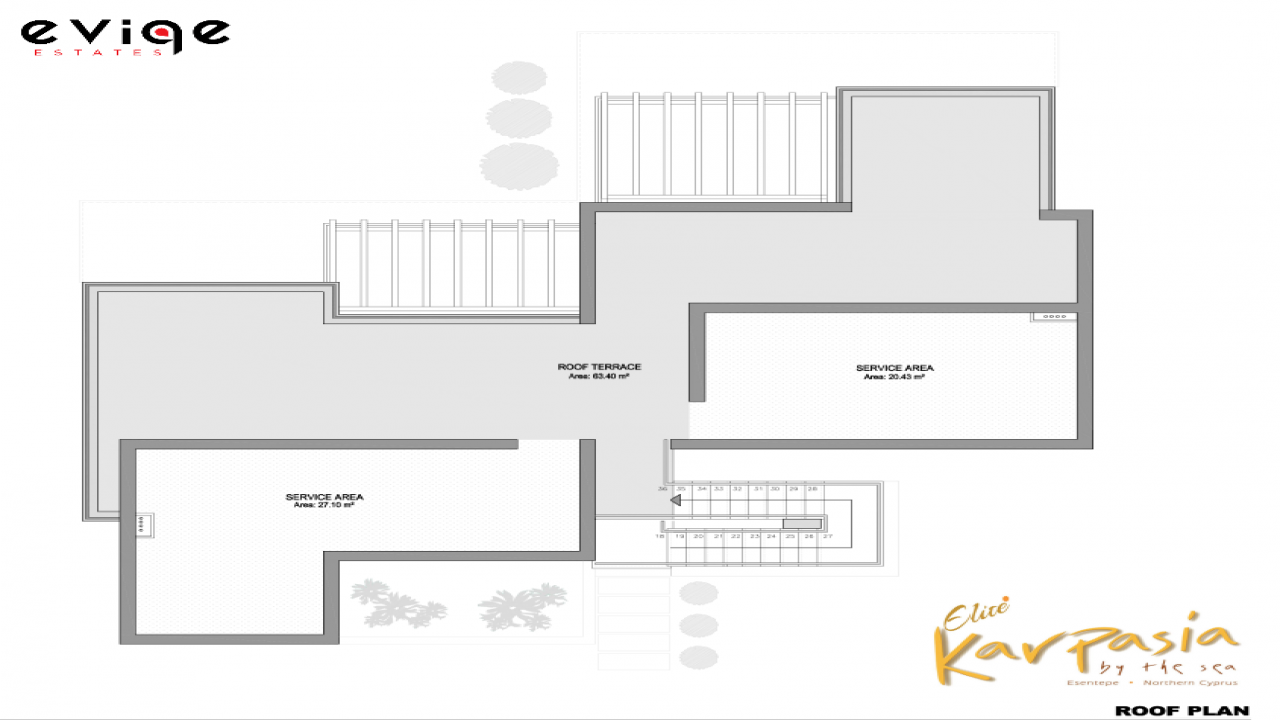2 Bedroom Apartment, Karpasia Elite, Esentepe