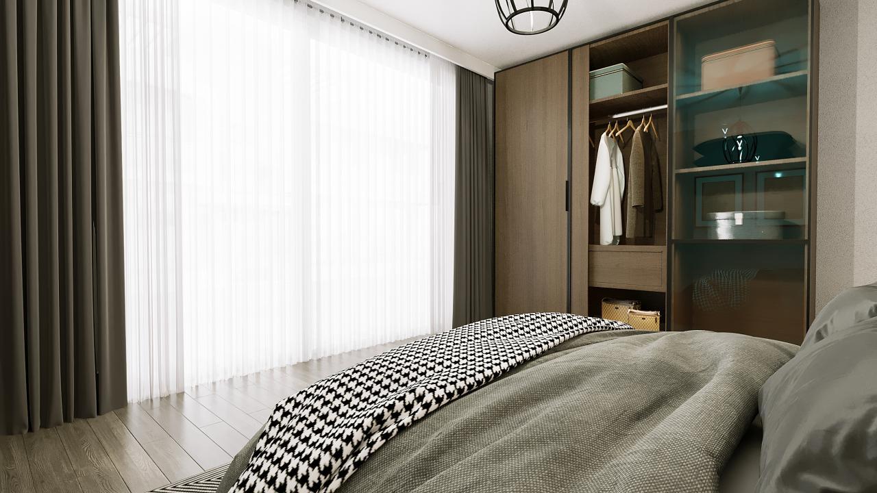 1 Bedroom Loft Apartment, Four Seasons Life, Iskele Bogaz