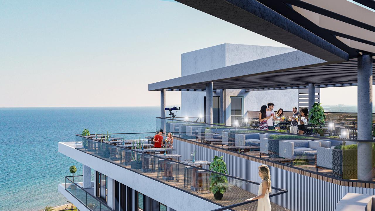 1 Bedroom Apartment, Panorama, Long Beach, Iskele