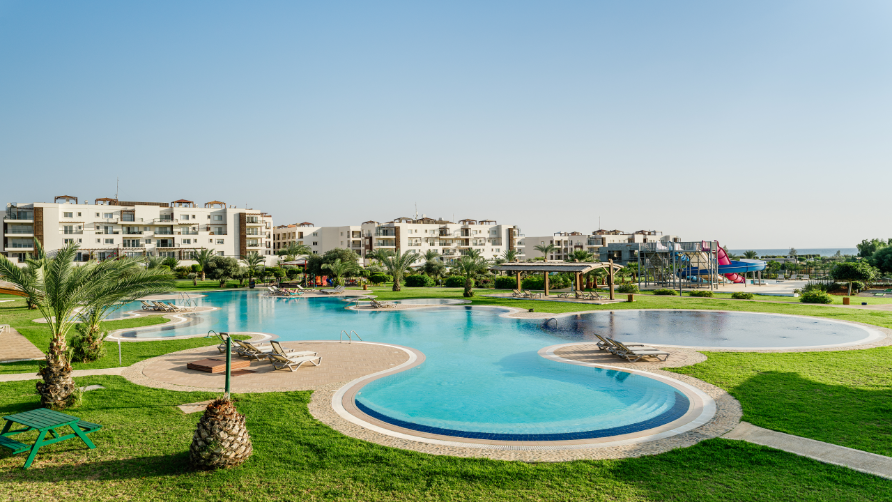 3 Bedroom Penthouse Apartment, Bafra, Thalassa Beach Resort