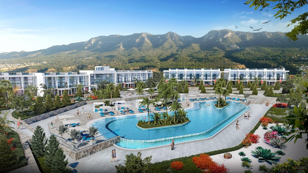 Studio Apartment, Cove Garden Village, Sun Valley, Esentepe